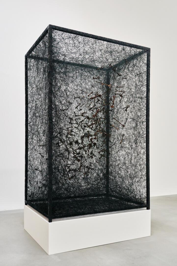 Chiharu Shiota at BlainSouthern für ArtBerlin 0090