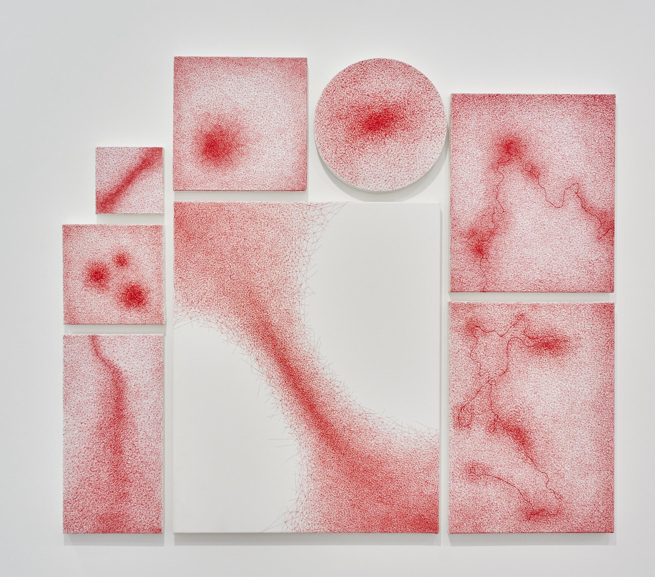 Chiharu Shiota at BlainSouthern für ArtBerlin 0092