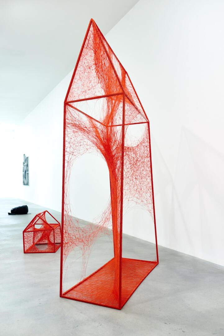 Chiharu Shiota at BlainSouthern für ArtBerlin 0093