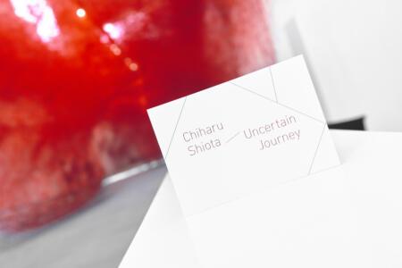 Chiharu Shiota at BlainSouthern für ArtBerlin 0110
