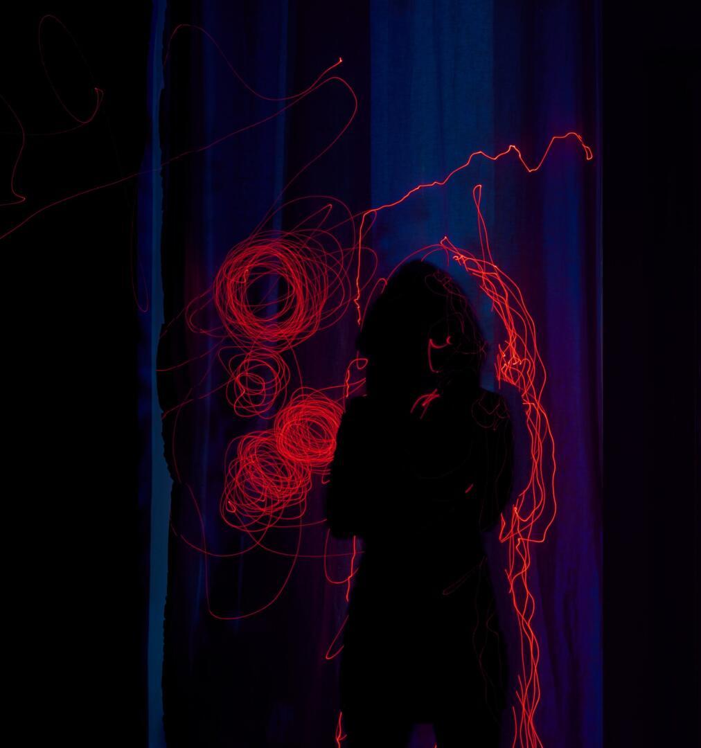 Motiv aus der Fine-art Photography Serie Laser Ghost #5