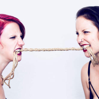 Linked.Berlin das Shibari Duo Rija Mae & Afsana Kink