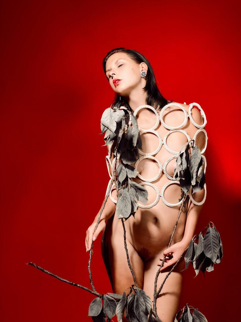 Herbst Rot – Aktfotografie / Fine-Art Nude 3