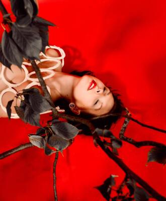 Herbst Rot – Aktfotografie / Fine-Art Nude
