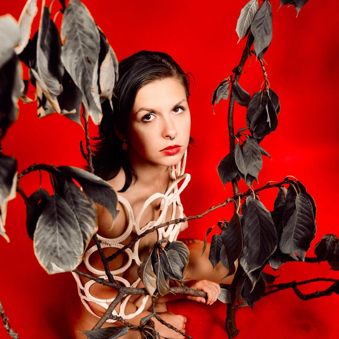 Herbst Rot – Aktfotografie / Fine-Art Nude 5